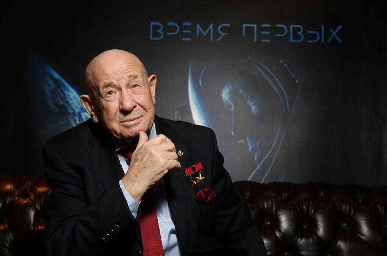 Алексей Леонов первым посмотрел фильм «Время первых»