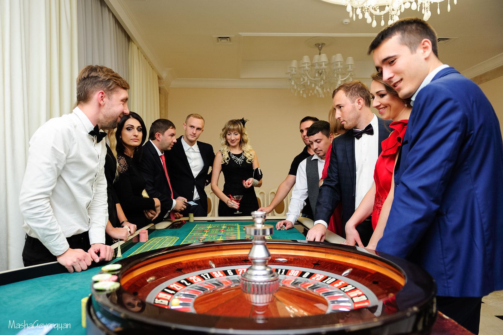 фото На выездное мероприятие казино
